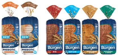 Burgen Bread Range