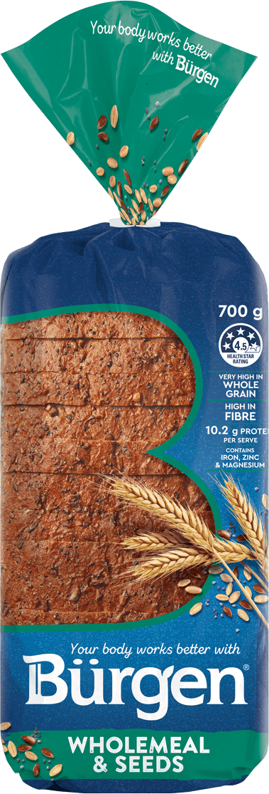 Bürgen Wholemeal & Seeds Bread